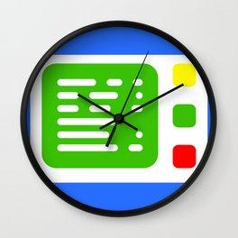 Beta One Command Base Wall Clock