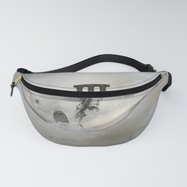 Awesome whale Fanny Pack