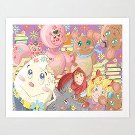 Children's Stories Art Print