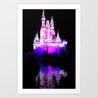The Castle Waters Art Print