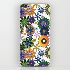 King of Carrot Flowers iPhone & iPod Skin