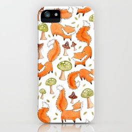 Little Foxes iPhone Case
