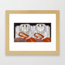 The Cholmondeley Ladies - Twin Art Framed Art Print