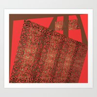 tote Art Prints featuring Tote by Jose Luis