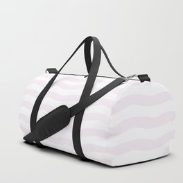 Winter 2019 Color: Pink Cream in Waves Duffle Bag
