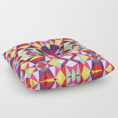 Disco Tribal Floor Pillow
