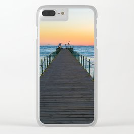 Sunrise on Red Sea Clear iPhone Case