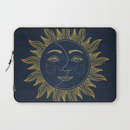 Sun and Moon Laptop Sleeve