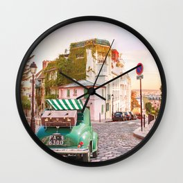 Montmartre Wall Clock