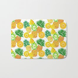 Tropical Prickles Bath Mat
