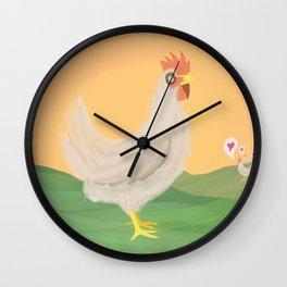 Gus Wall Clock