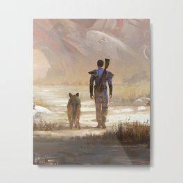 Fallout video game Metal Print