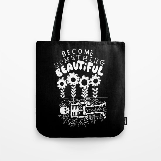 beautiful bones Tote Bag