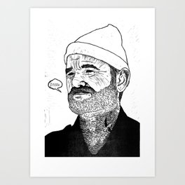 Team Zissou Art Print