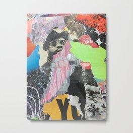Berlin Posters-YO Metal Print