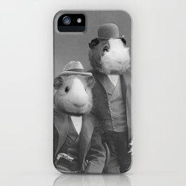 Distinguished Gentlemen iPhone Case