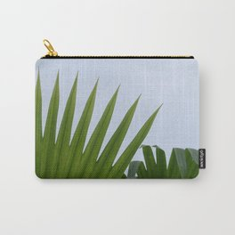 Tropical Palm Fan Carry-All Pouch