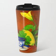 Teacup with Squash Metal Travel Mug