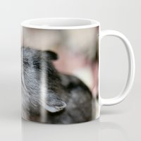 hamster Mugs featuring Tiny Hamster by IowaShots