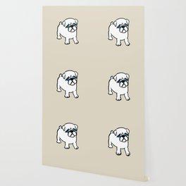 Chalkies pug dog color 6 Wallpaper