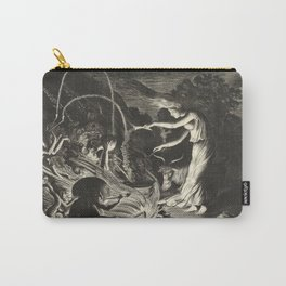 Witch - 17th Century Illustration Carry-All Pouch
