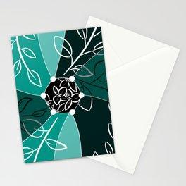 Bougain patt Stationery Cards