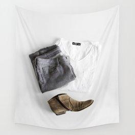 SHIRT - PANTS - BOOTS - MAN - PHOTOGRAPHY Wall Tapestry