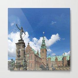 Frederiksborg Castle Denmark  Metal Print
