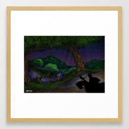 Night Journey - Guru Gobind Singh Ji Framed Art Print
