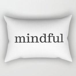 MINDFUL Rectangular Pillow
