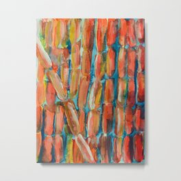 Coral Night of Sugarcane Metal Print