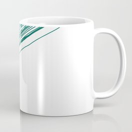 Green & Grey stripe Coffee Mug