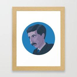 Queer Portrait - E. M. Forster Framed Art Print