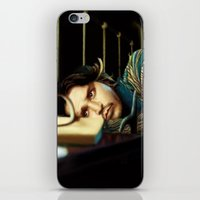 johnny depp iPhone & iPod Skins featuring Johnny Depp by ururuty
