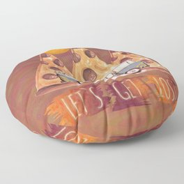 Lost Pizza Floor Pillow