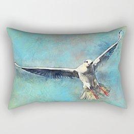 gull bird Rectangular Pillow