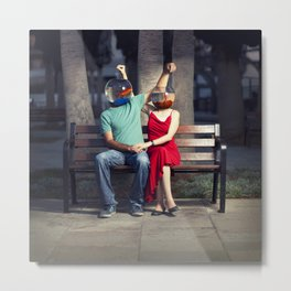 """""""We are Meant For each other""""- By Ronen Goldman Metal Print"""