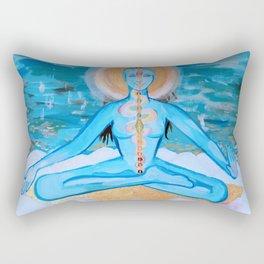 Shakti Kundalini Rectangular Pillow