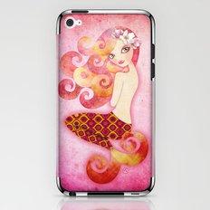 Coraleen, Mermaid in Pink iPhone & iPod Skin