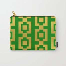 Green and gold design Carry-All Pouch