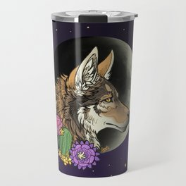 coyote night Travel Mug