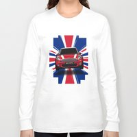 uk Long Sleeve T-shirts featuring UK Cooper by McGrathDesigns