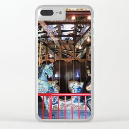 Merry-Go-Round Of Color Clear iPhone Case