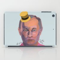putin iPad Cases featuring Putin on the Ritz by Kervin