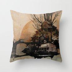Northwest PDX Throw Pillow