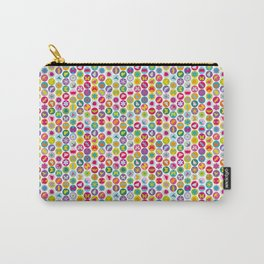 bugs 'n flowers - light Carry-All Pouch