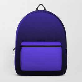 Periwinkle Navy Ombre Gradient Backpack
