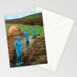En los labios de Venus  Stationery Cards