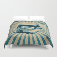 trooper Duvet Covers featuring The trooper by Durro