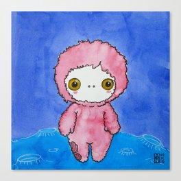 Moonkhin 1 (pink tranquil) Canvas Print